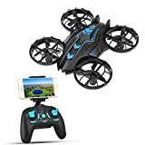 SZJJX APP-RC Drone 2.4 GHz Remote Control FPV Wifi Quadcopter 4CH 4-Axis Gyro Helicopter, Headless Mode, Altitude Hold, with HD Camera Real Time Transmission RTF SJ515W