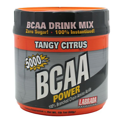 Labrada Nutrition BCAA Citrus Puissance Tangy 500 grammes