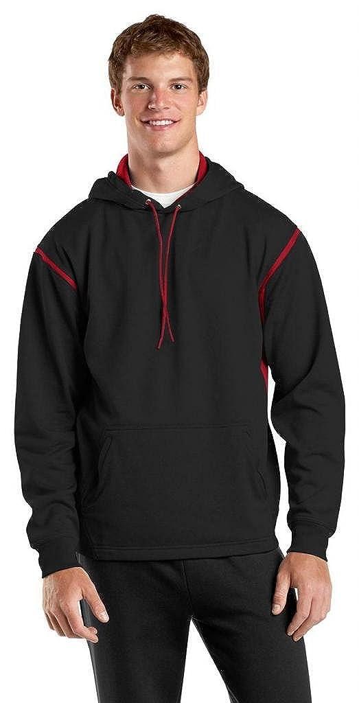 Sport-Tek Men's Big And Tall Fleece Hooded Sweatshirt TST246