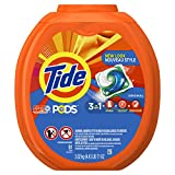 Tide PODS Laundry Detergent, Original, 81 count, Designed for Regular and HE Washers.