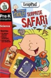 LeapFrog LeapPad Educational Book: Stanley Surprise Safari with Interactive Cards