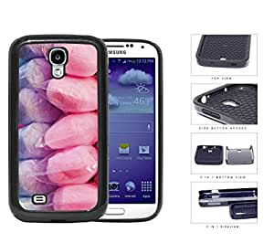 Purple And Pink Cotton Candy 2-Piece Dual Layer High Impact Rubber Silicone Cell Phone Case Apple iPhone 5c