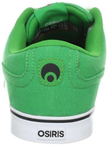 Osiris CASWELL VLC 21018001 - Zapatillas de skate de cuero para hombre Verde