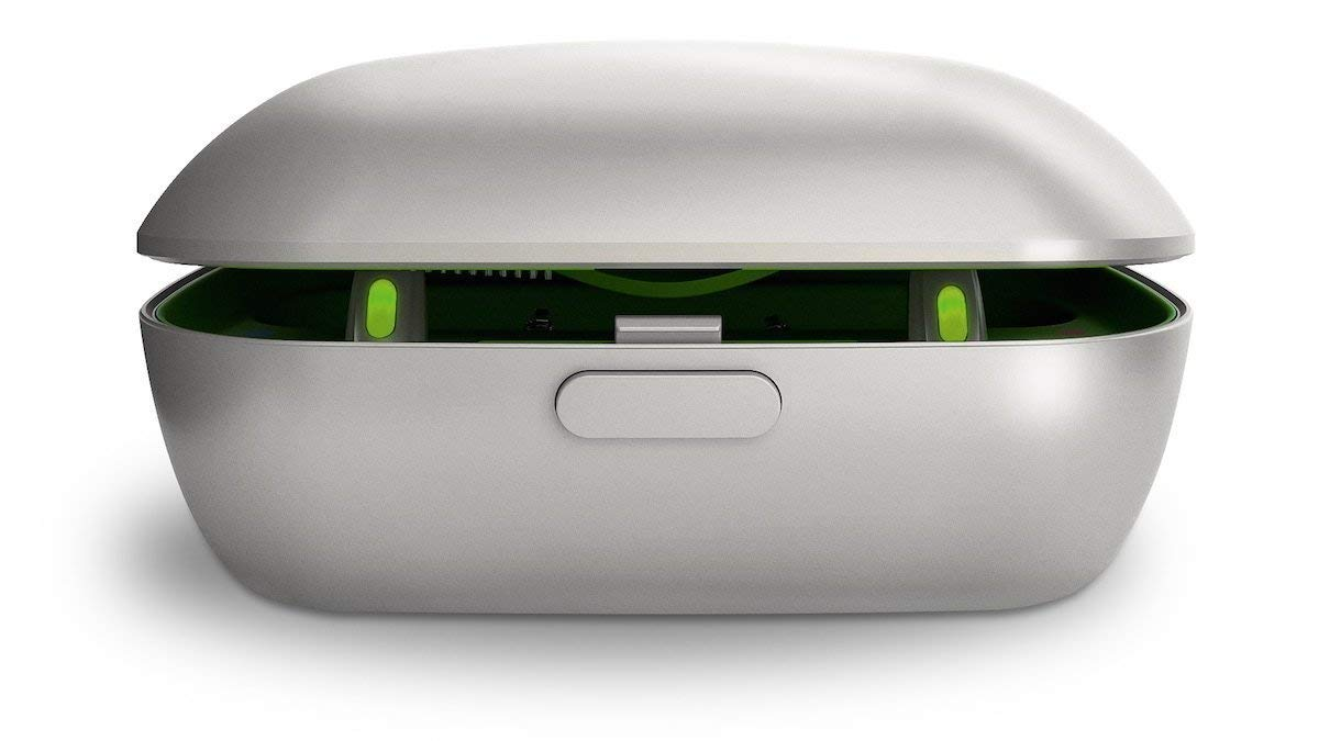 Phonak Charger Case with Phonak Power Pack for Phonak Audeo Marvel Rechargeable Hearing Aids.