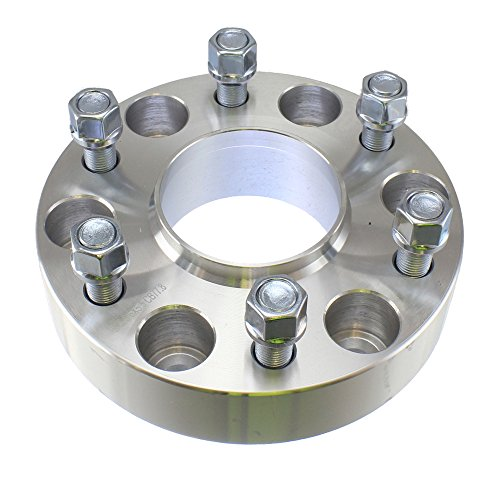 (4) Chevy 1.50'' ( 38mm ) Hubcentric 6x139.7 Wheel Spacers Fits Silverado Tahoe Avalanche Suburban by Titan Wheel Accessories (Image #1)