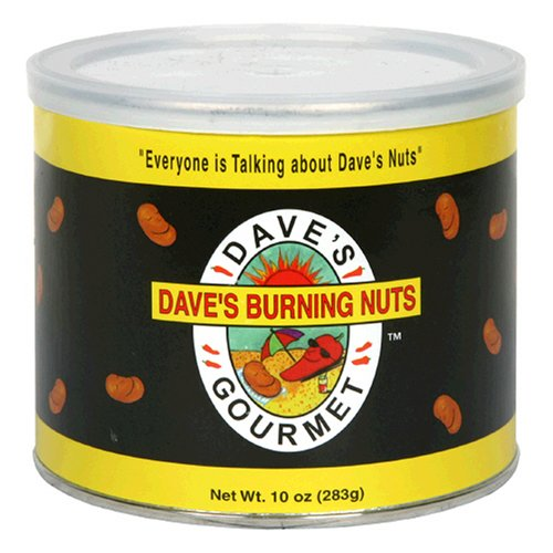 - Dave's Gourmet Dave's Burning Nuts, 10-Ounce Cans (Pack of 4)