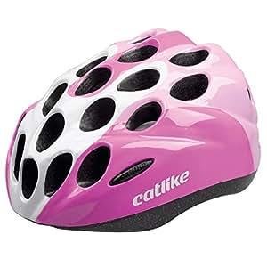 CATLIKE Kitten Tricolor SV Bike Helmet, Pink, Small