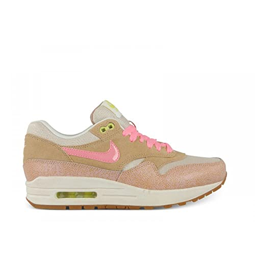 ... ireland nike air max 1 suede and mesh pink dusted clay trainer size 9  uk 2cf44 6106de82c