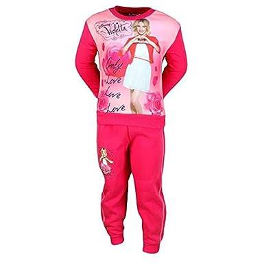 Violetta-Chándal para niña, color rosa: Amazon.es: Ropa y accesorios