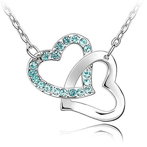 next-fri-new-design-czech-diamond-women-necklace-clavicle-chain-heart-to-heart-pendantsky