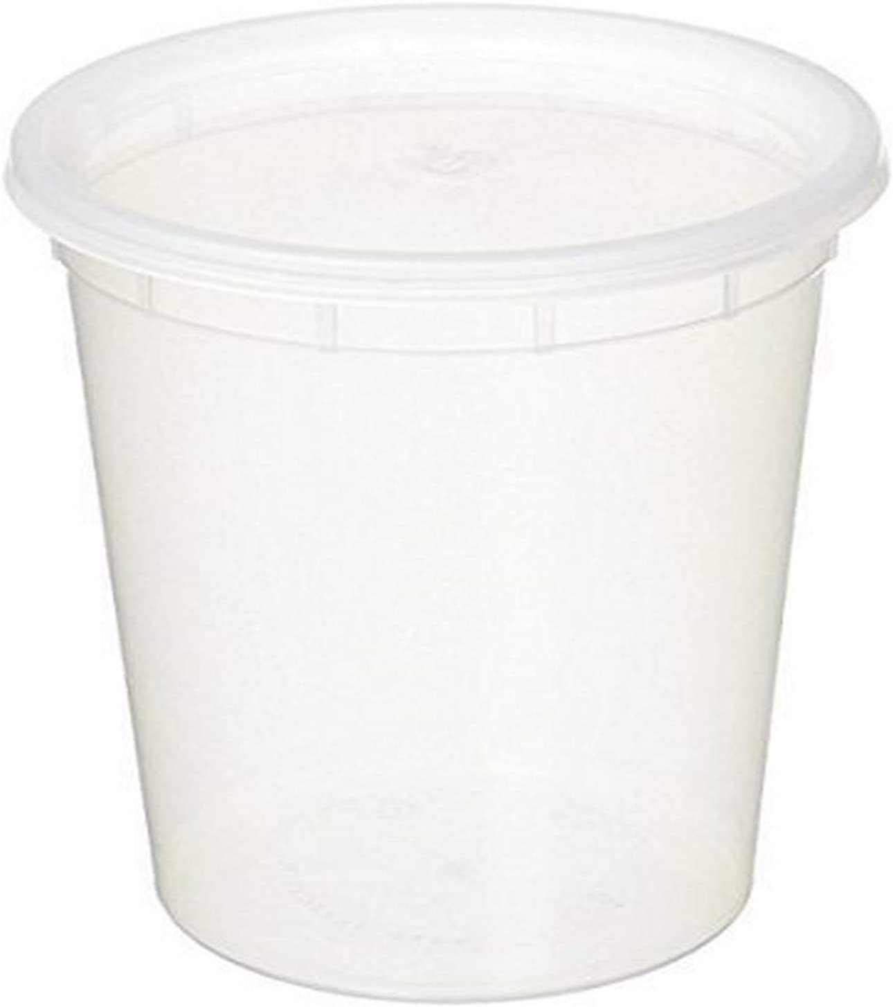 YW Deli Food Container, 32 oz, Clear