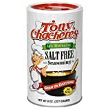 Tony Chachere's No Salt Seasoning, 8-Ounce Shakers (Pack of 12)