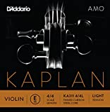 D\'Addario Kaplan Amo Violin E String, 4/4 Scale, Light Tension
