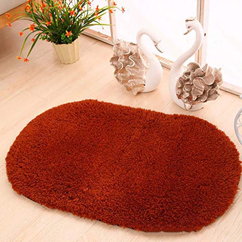 Kangma Oval Fluffy Ultra Soft Area Rugs