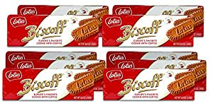 Lotus Biscoff Non GMO European Biscuit Cookies, 8.8 Ounce (Pack of 10)