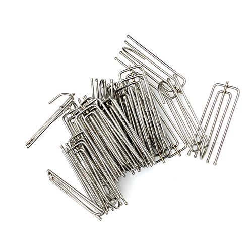 Pleater Hooks (Morainn 30pcs Curtain Pleater Tape Hooks Stainless Steel (30))