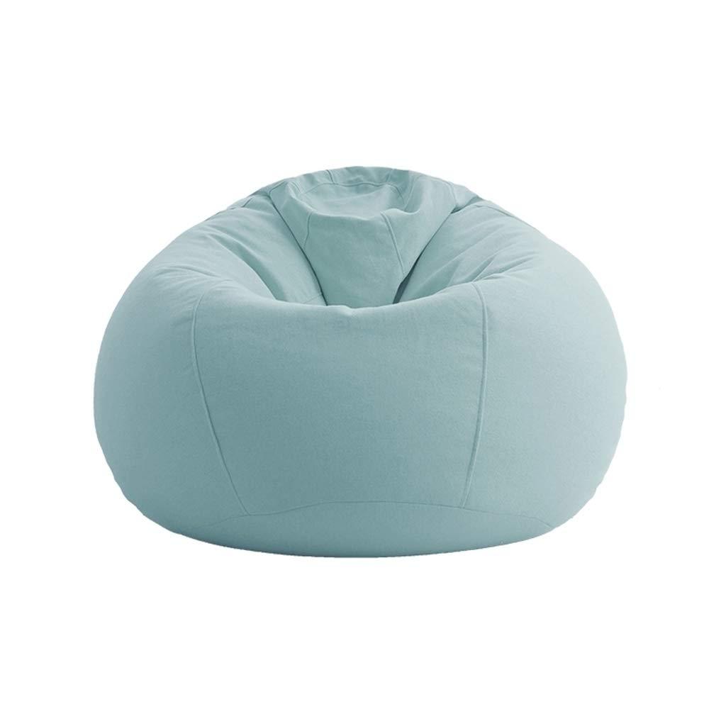 Amazon.com: Bean Bag Chair Single Sofa Foam Round Bean Bag Suitable ...
