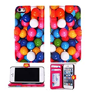 iphone 4 cases, iphone 4s cases, iphone 4 leather case, Gotida 4S-GO002 Flip ID Card Wallet Colorful PU Leather Purse Design Case Cover w/Stand for IPhone 4 4G 4S, iphone 4 cases, case for iphone 4, iphone 4s leather case