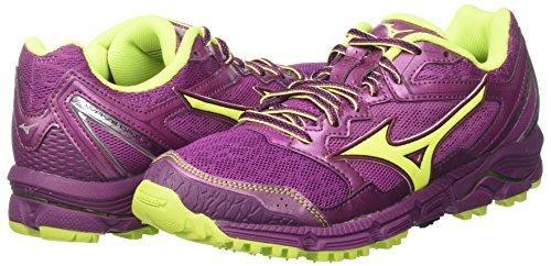 3 Course Wave Chaussures Daichi Mizuno Femme Pour Safetyyellow trfle Wos 44 De Multicolore Darkpurple FpRxX