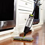Casabella Quick Scrub Doubled Sided Microfiber Spray Mop, Black