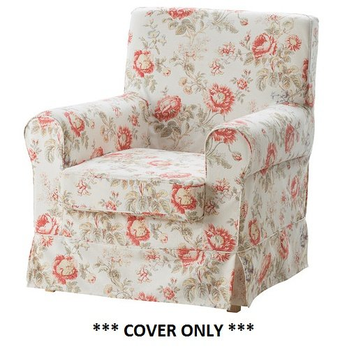 IKEA EKTORP JENNYLUND - Slipcover for Armchair Byvik Multicolor NEW (cover only)