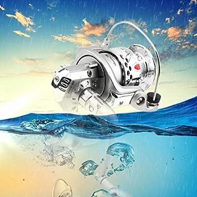 Joyleah 5.1:1 6BB Ball Bearings Fishing Spinning Reel Left/Right SG3000 ABS Spool