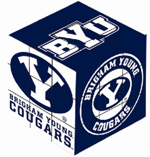 NCAA Brigham Young Cougars Toy Puzzle Cube