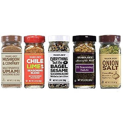 Trader Joe's Spice Seasoning Variety Set - 5 Flavors