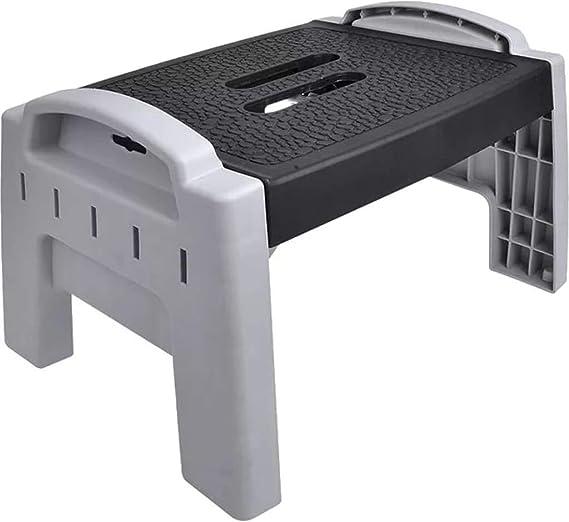 ProPlus Taburete Escalón Plegable Plástico Escaleras Andamios Banquetas Taller: Amazon.es: Coche y moto