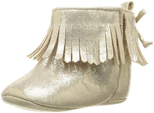 Pictures of ABG Baby Girls' Fringe Boot W/Bow GNB55395AZ2 Gold 1