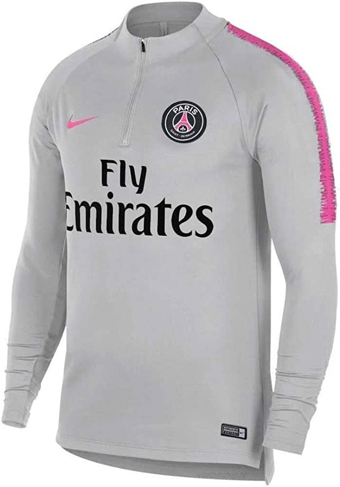 NIKE 894320 Camiseta de Manga Larga Paris Saint-Germain, Hombre ...
