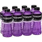 POWERADE, Electrolyte Enhanced Sports Drinks w/vitamins, Grape, 20 fl oz, 8 Pack