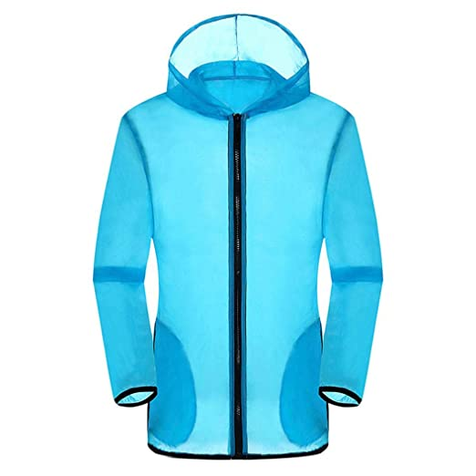 Amazon.com: Sunhusing Mens Summer Outdoor Beach Sports Hooded Long Sleeve Sun Protection Cover up: Clothing