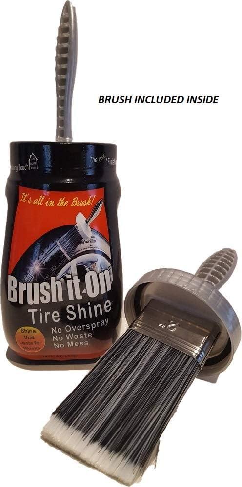 2 BRUSH IT ON Tire Shine