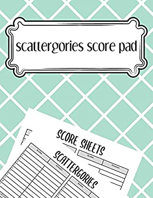 scattergories score pad: scattergories score sheets to keep tracking of who ahead in your favorite creative thinking.: Amazon.es: Carey, Zachary: Libros en idiomas extranjeros