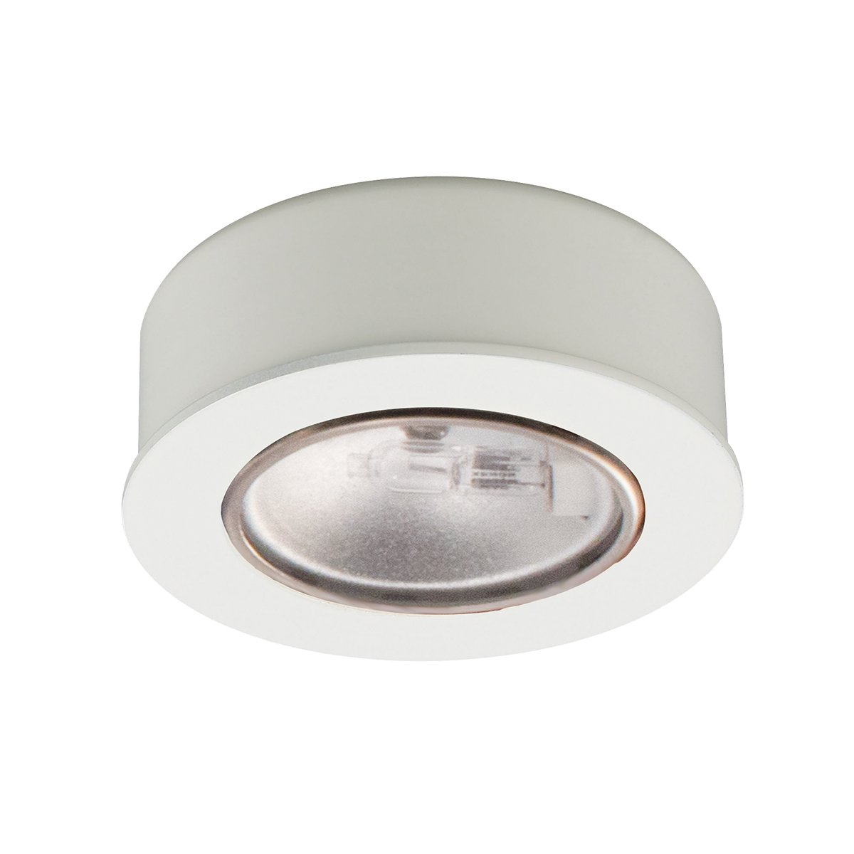 Amazon.com: WAC Lighting HR-88-WT Low Voltage Round Halogen Button ...