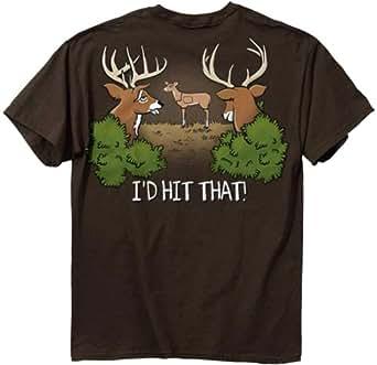 deer hunting t shirt i 39 d hit that funny buck. Black Bedroom Furniture Sets. Home Design Ideas