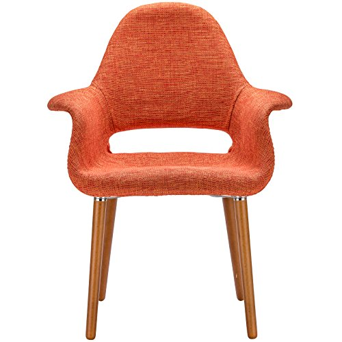 Poly and Bark Barclay Dining Chair in Orange (Set of 2) by Poly and Bark (Image #3)