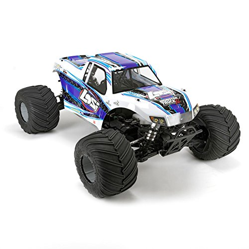Team Losi 1/5 Monster Truck XL 4WD Gas RTR with AVC, White from Team Losi