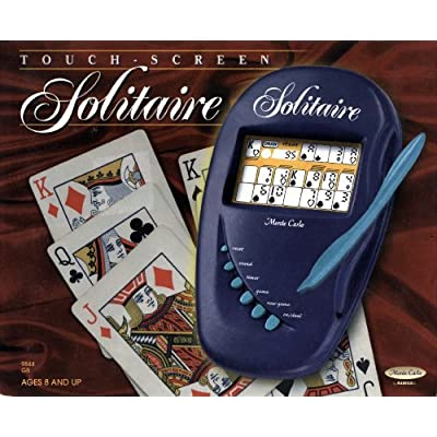 Monte Carlo by Radica: Klondike & Vegas Touch Screen Solitaire - Model 9844: Toys & Games