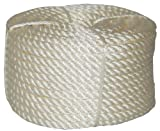 T.W . Evans Cordage 32-022 3/8-Inch by 100-Feet Twisted Nylon Rope Coilette by T.W . Evans Cordage Co.