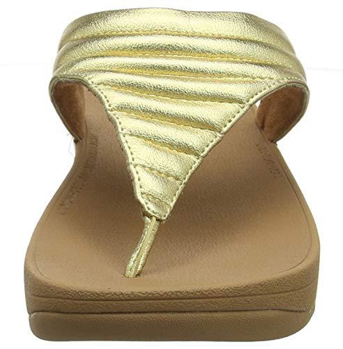 Chanclas Lottie artisan 667 Mujer Fitflop Gold Dorado Para Padded xAZEZqnF