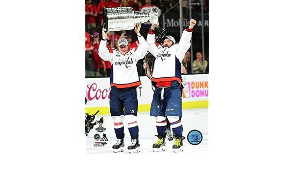 c286d0ca4 Amazon.com: Alex Ovechkin & Nicklas Backstrom 2018 Washington Capitals  Stanley Cup Photo (Size: 8
