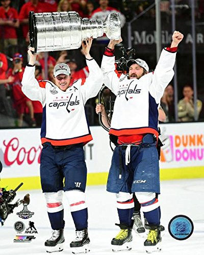 e480a9b97f9 Image Unavailable. Image not available for. Color  Alex Ovechkin   Nicklas  Backstrom 2018 Washington Capitals Stanley Cup ...