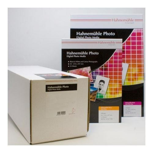 Hahnemuhle Fine Art Pearl, Fiber Based, Bright, Bright White Inkjet Paper, 285gsm, 17 x 39' Roll with 3 Core. by Hahnemuhle ()