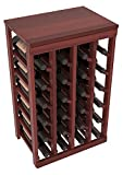 Wine Racks America Redwood 24 Bottle Table Top. 13 Stains to Choose From! Review