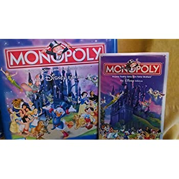 Monopoly Disney Edition Tin Parker Brothers