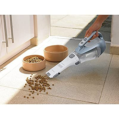 Black and Decker 16V Lithium Cordless Lightweight Cyclonic DustBuster Handheld Vacuum Cleaner