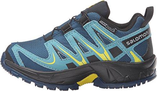 24a2b493926c Salomon Kid s XA Pro 3D ClimaSalomon Waterproof Hiking Sneakers ...