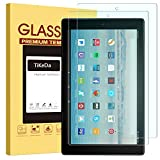[2 Pack] Prime Sale Day Deals 2019 All-New Fire HD 10 Screen Protector (7th/5th Generation 2017/2015 Release)- Fire HD 10 Kids Edition Hard Glass Screen Protector with Anti-Scratch Anti-Fingerprint